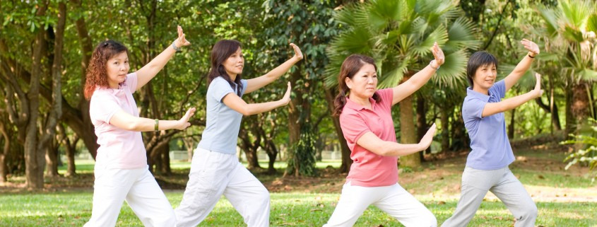 Outdoor Tai Chi